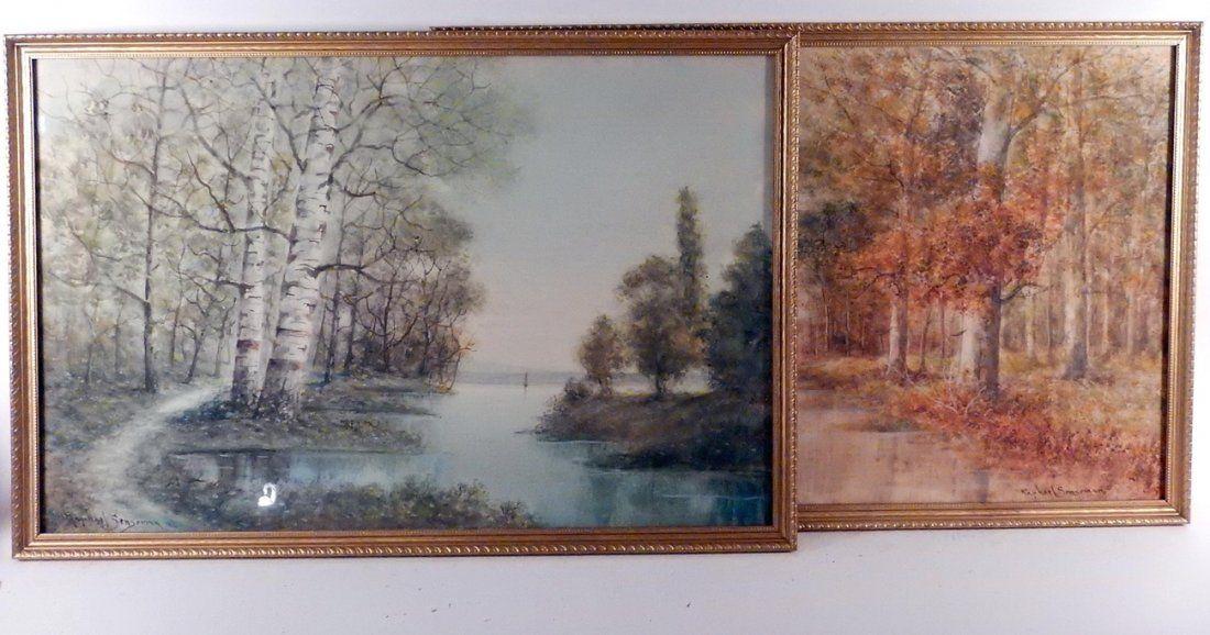 Raphael Senseman, Two Landscapes