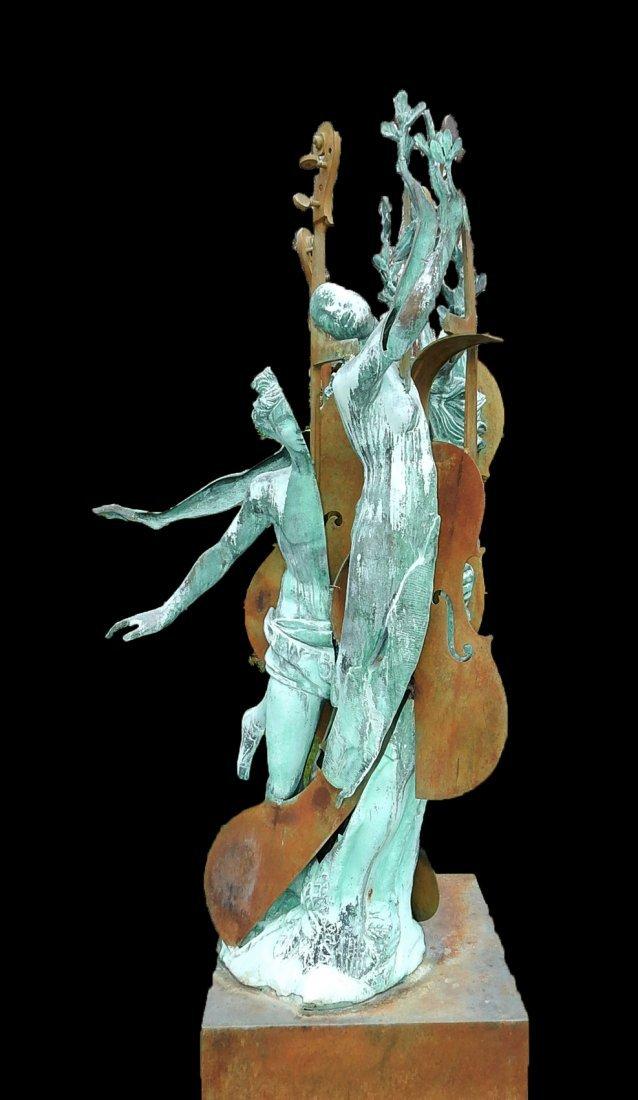 Arman, Apollo and Daphne - Bronze