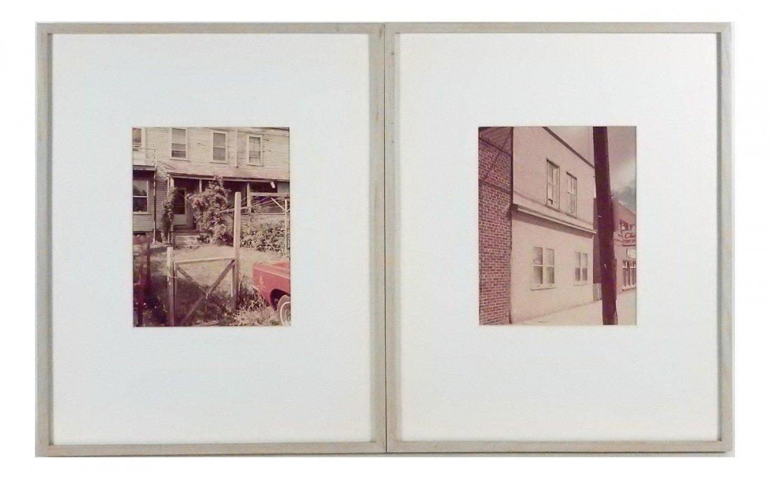 Stephen Shore - Two Photographs 1974
