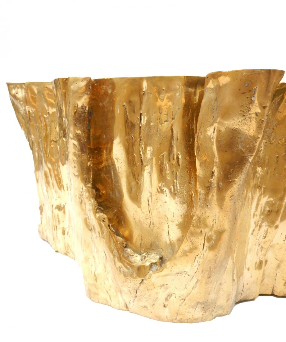 """""""Kailash"""" Brass Cocktail Table by Chista - 4"""