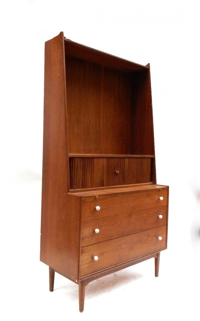 Drexel Mid-Century Modern Secretary Desk