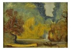 Louis Eilshemius, River Landscape