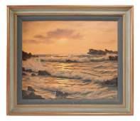 Roger de la Corbiere, Ocean Sunset