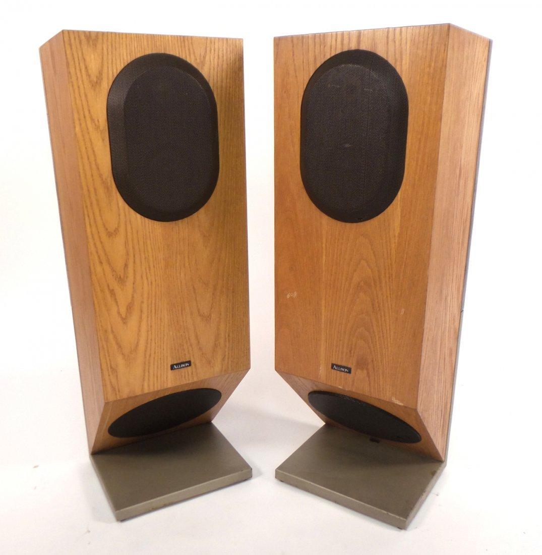 """Pair of  Allison """"Series 9"""" Speakers"""