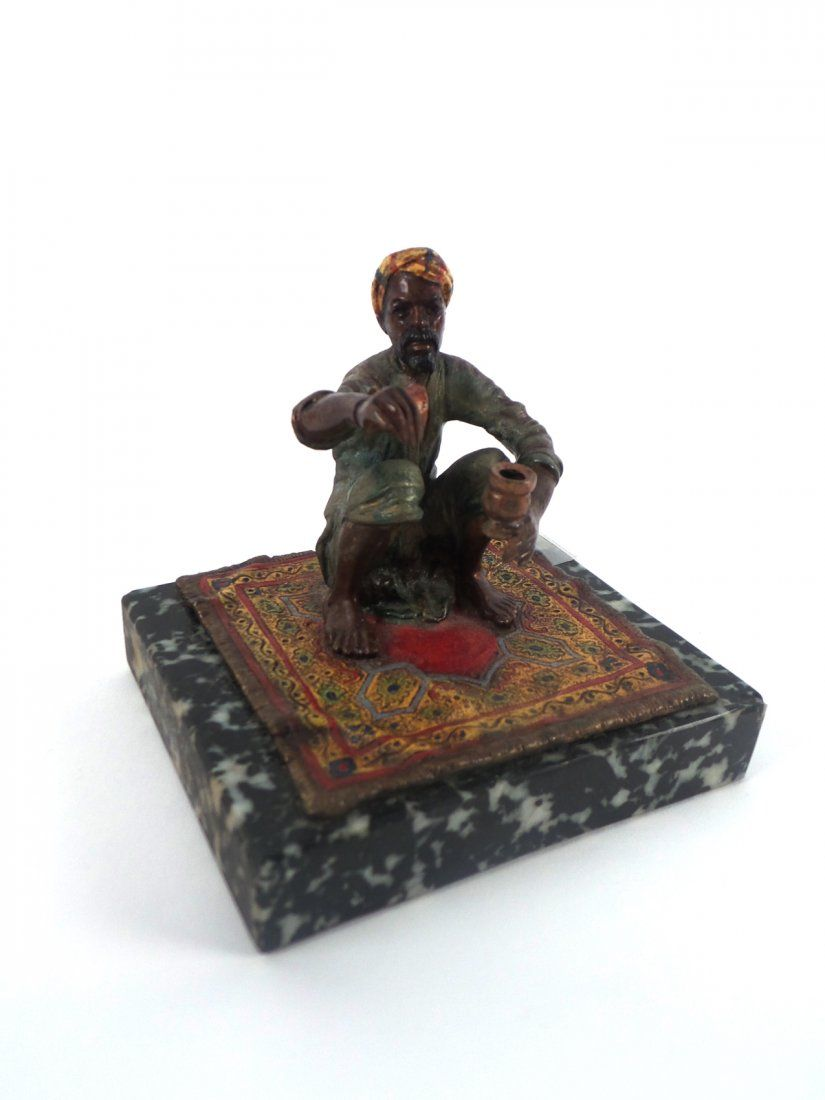 Carl Kauba, Cold Painted Bronze Figure