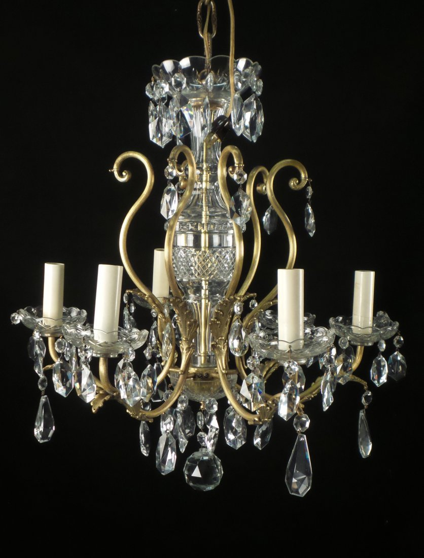Classical Style Six Light Fixture