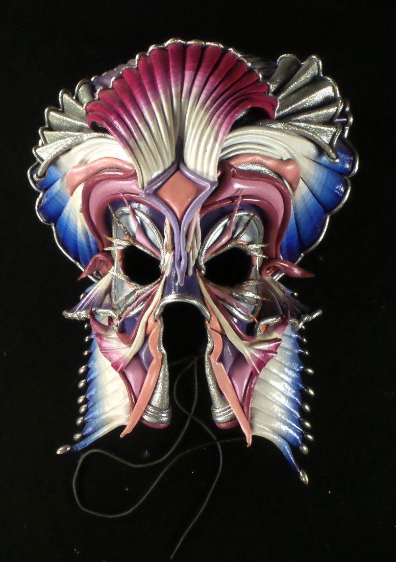 Nine Elaborate Carnival/Masquerade Masks - 3