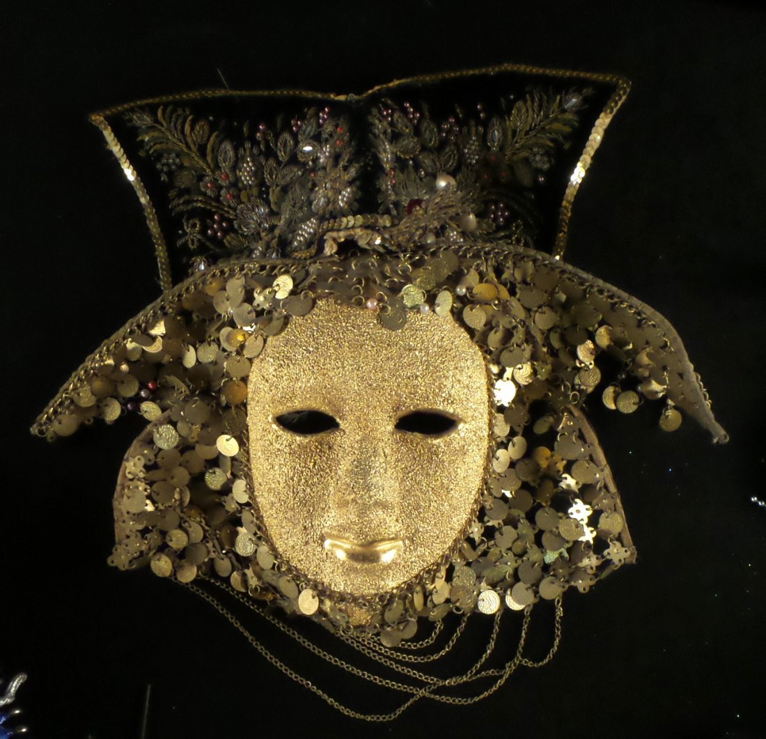 Nine Elaborate Carnival/Masquerade Masks - 6