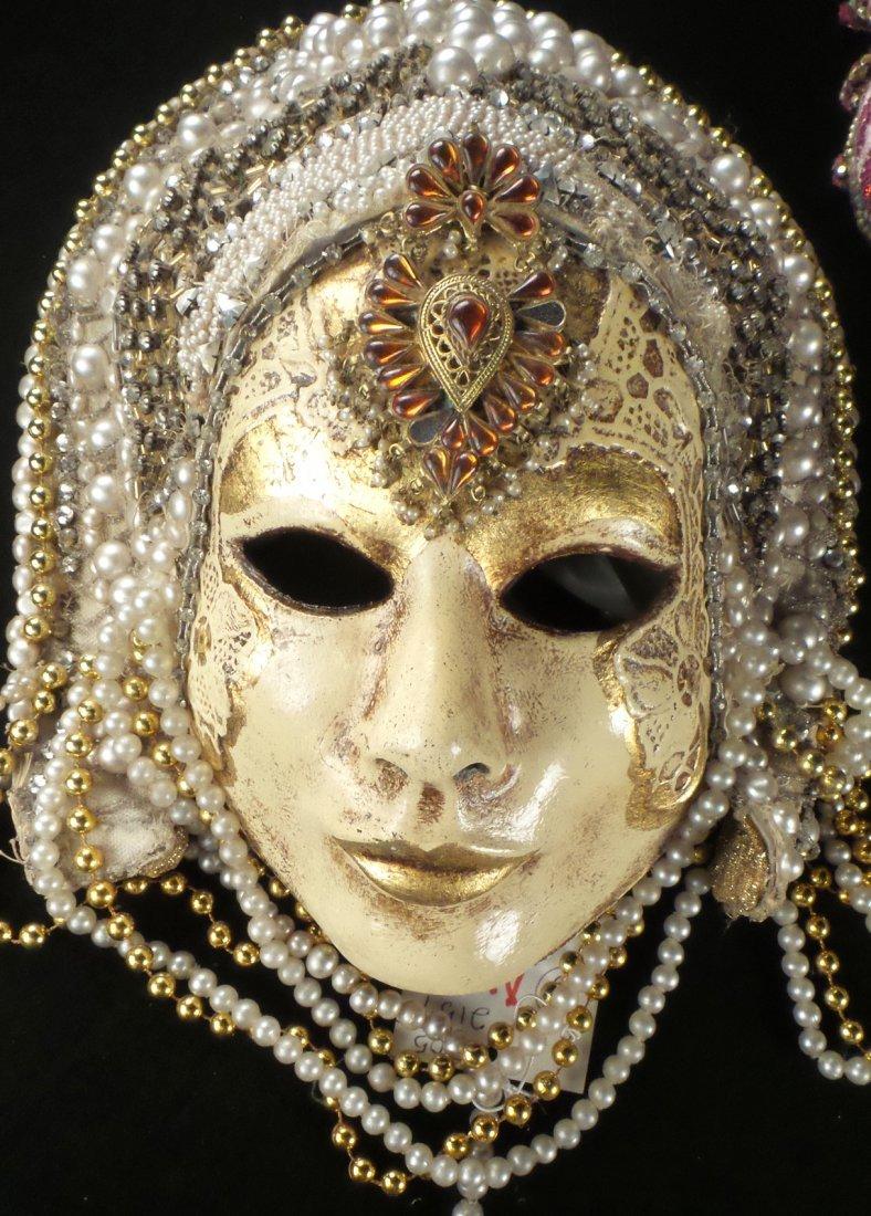 Nine Elaborate Carnival/Masquerade Masks - 8