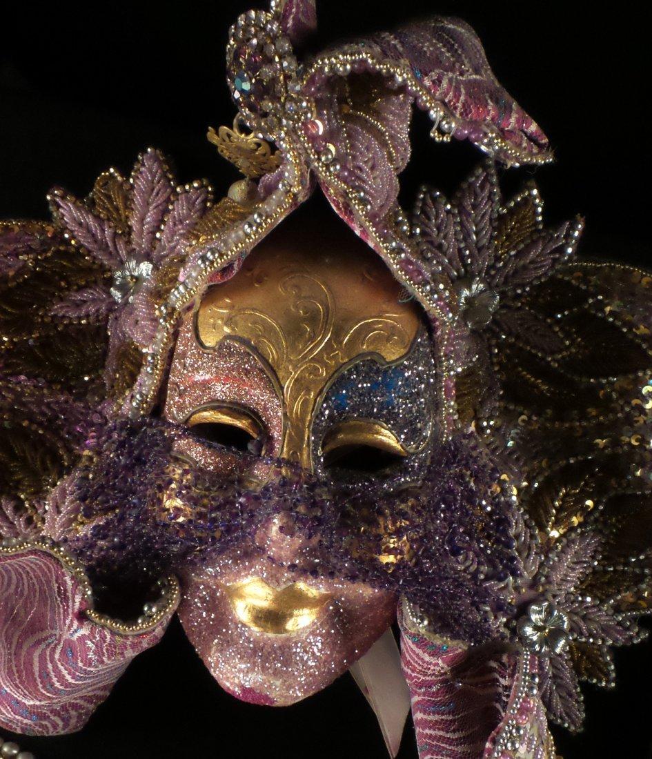 Nine Elaborate Carnival/Masquerade Masks - 9