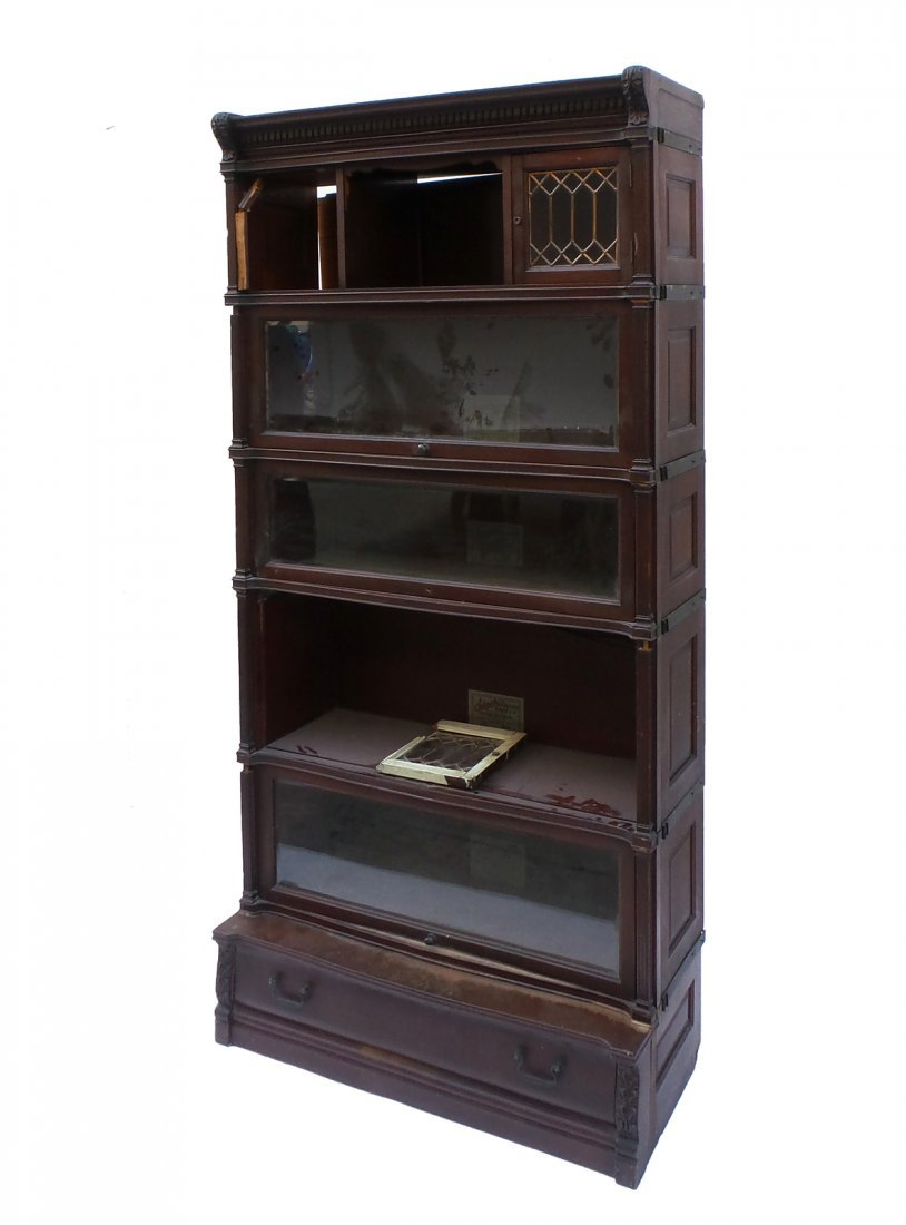 Five Stack Lawyers Bookcase by IDEAL