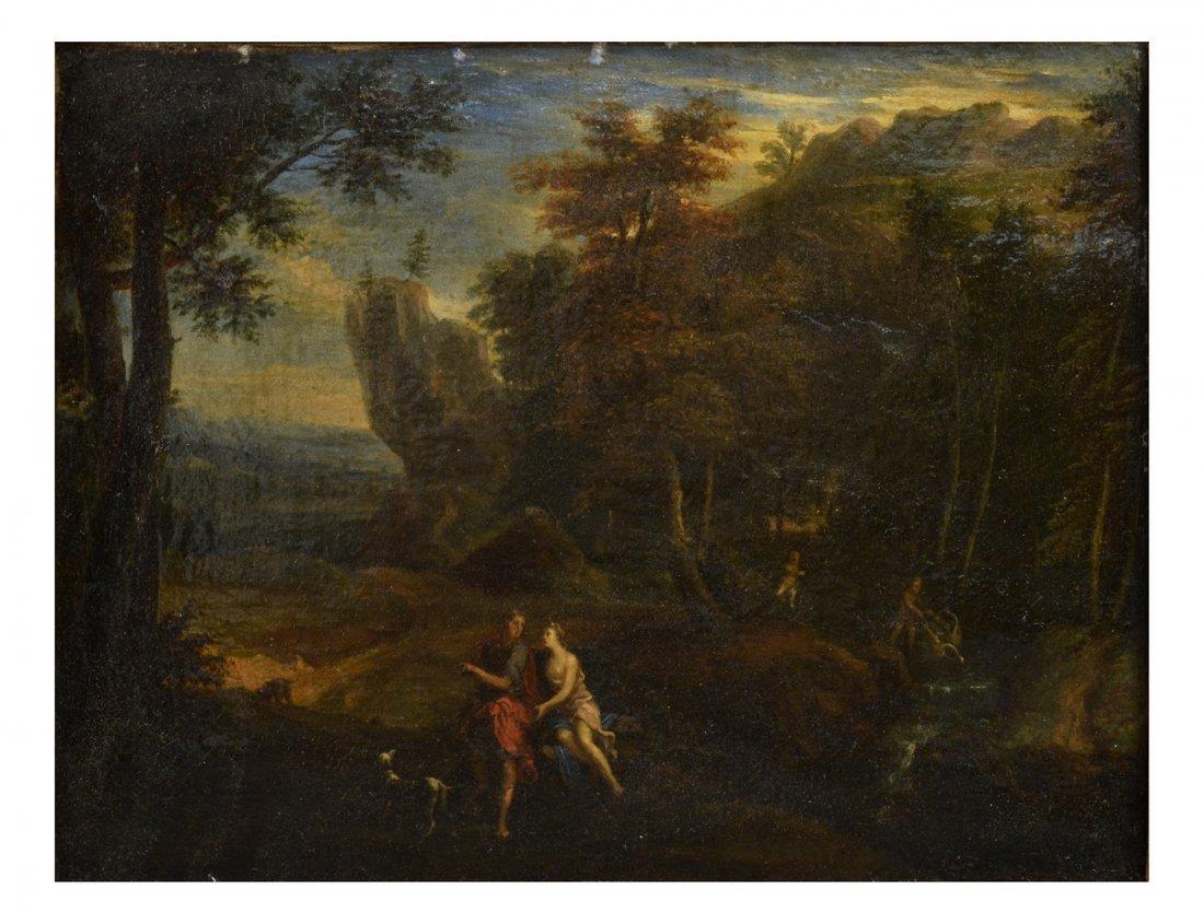 Cornelis Van Poelenburgh, Old Masters Oil Painting