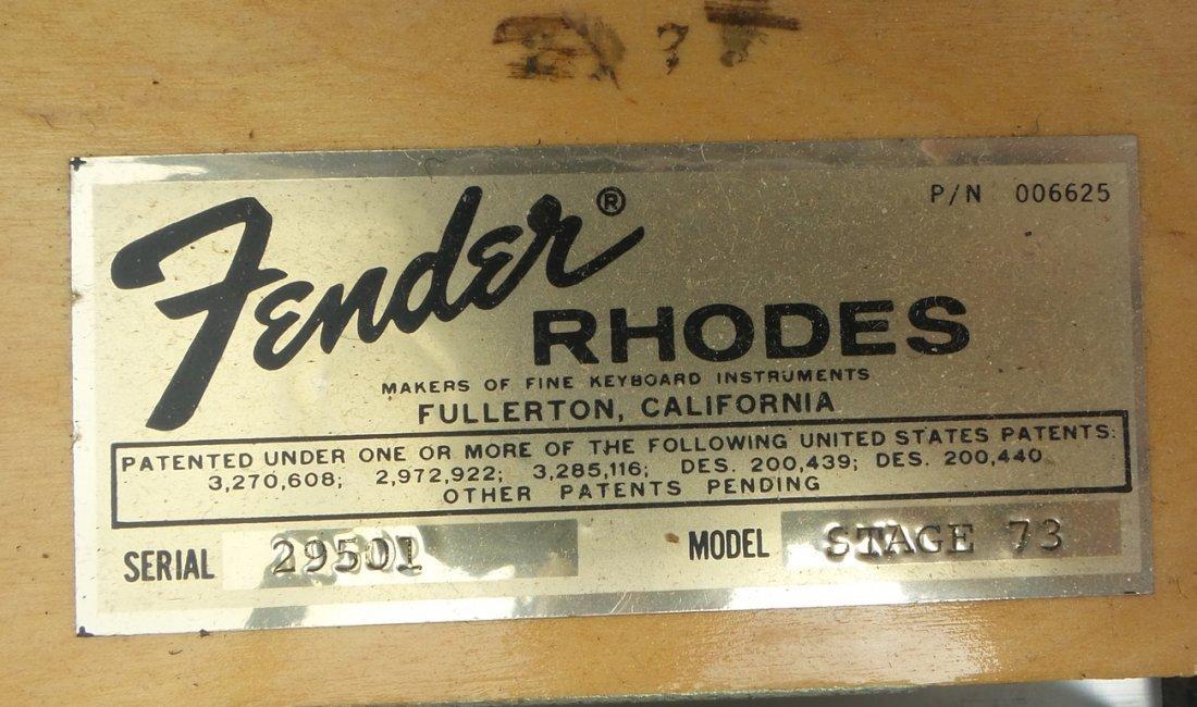 Vintage Fender Rhodes Stage Piano - 9