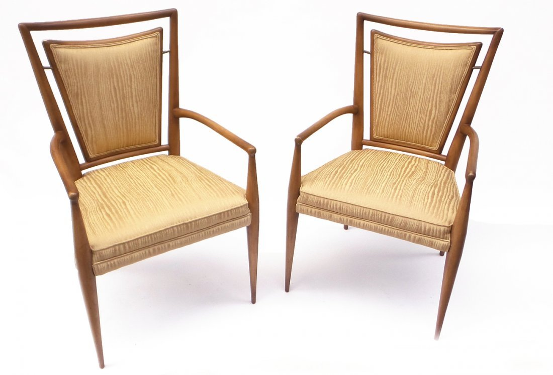 Pair of Danish Modern Armchairs