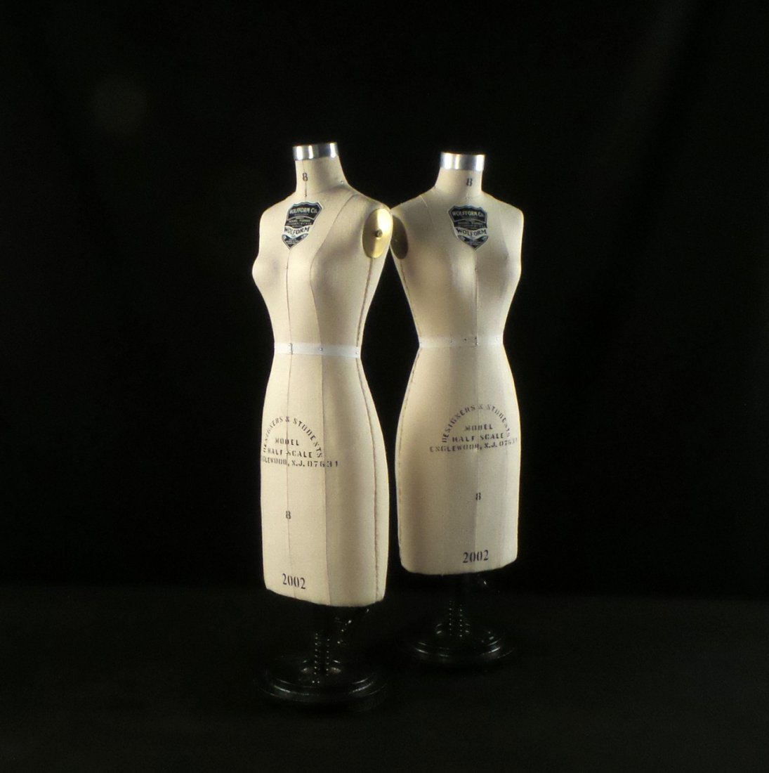 Pair of Wolf Form Co. Model Forms