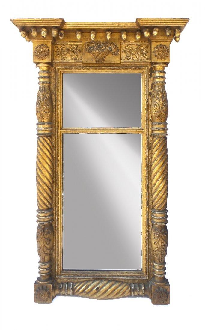 Classical Gilt Pier Mirror