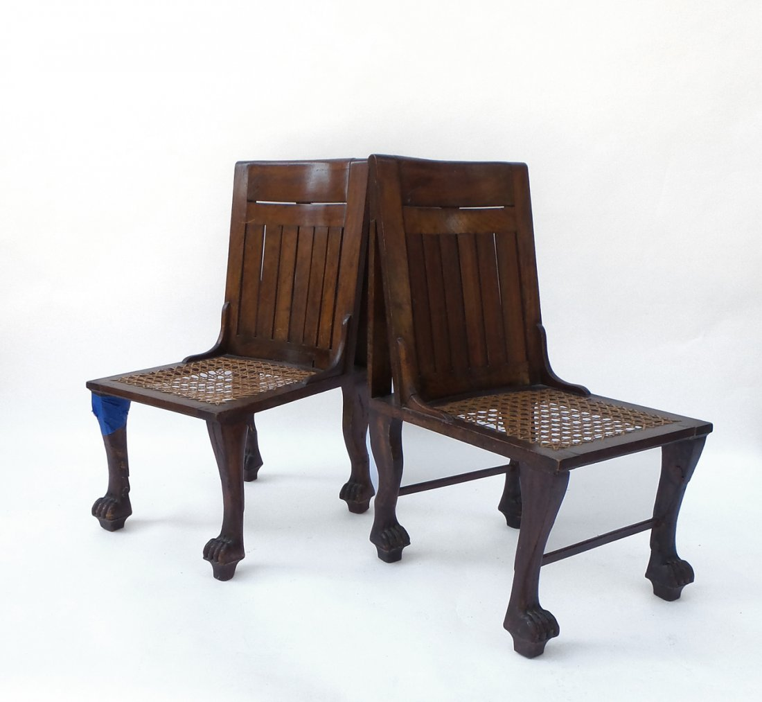 Pair of Egyptian-Style Chairs