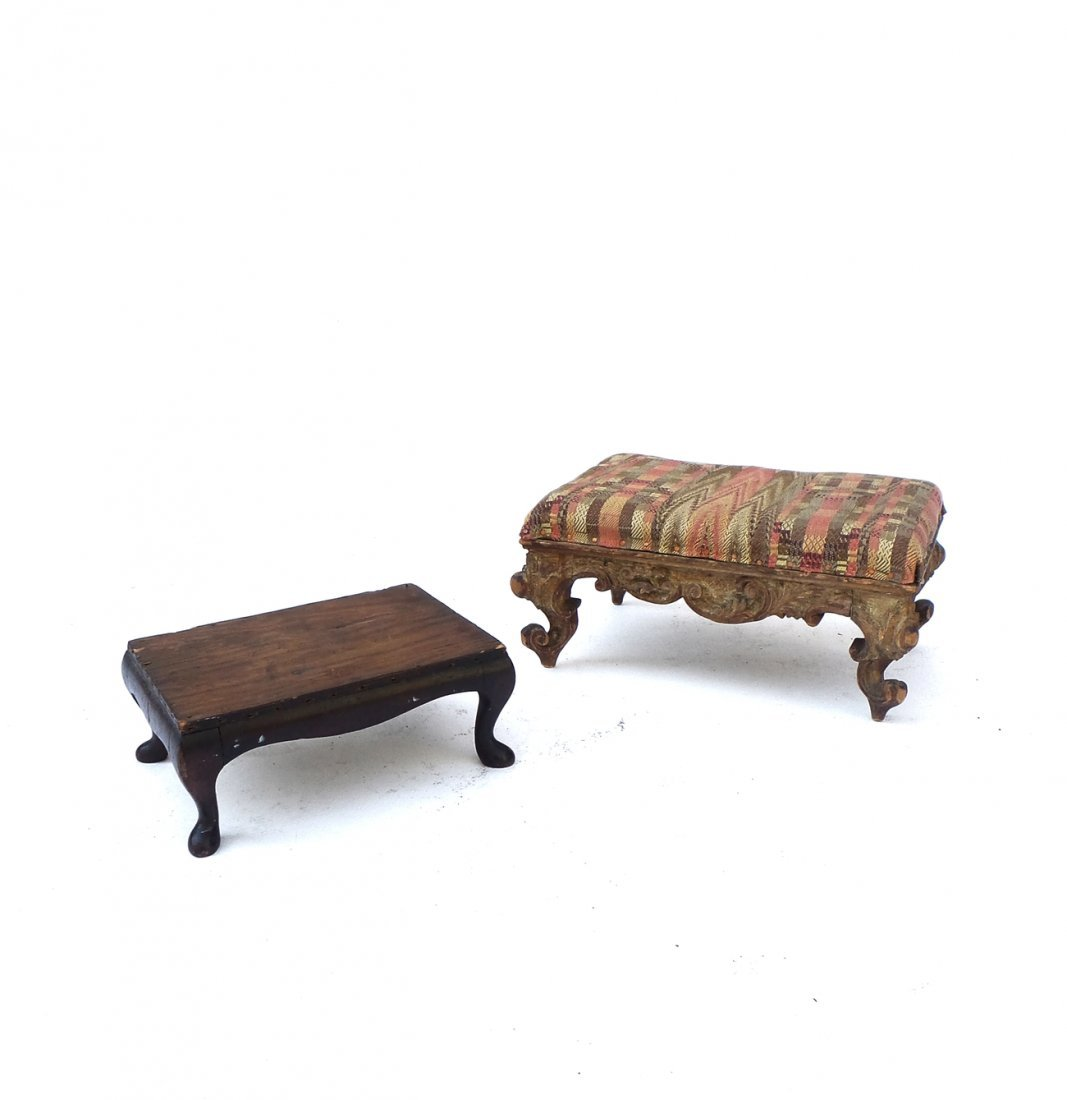 Two Footstools