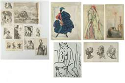 Lot of Prints and Drawings