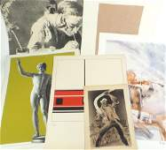 Seven Assorted Lithographs