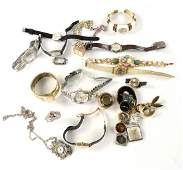 Ladies 14k Gold Wrist Watch and Others