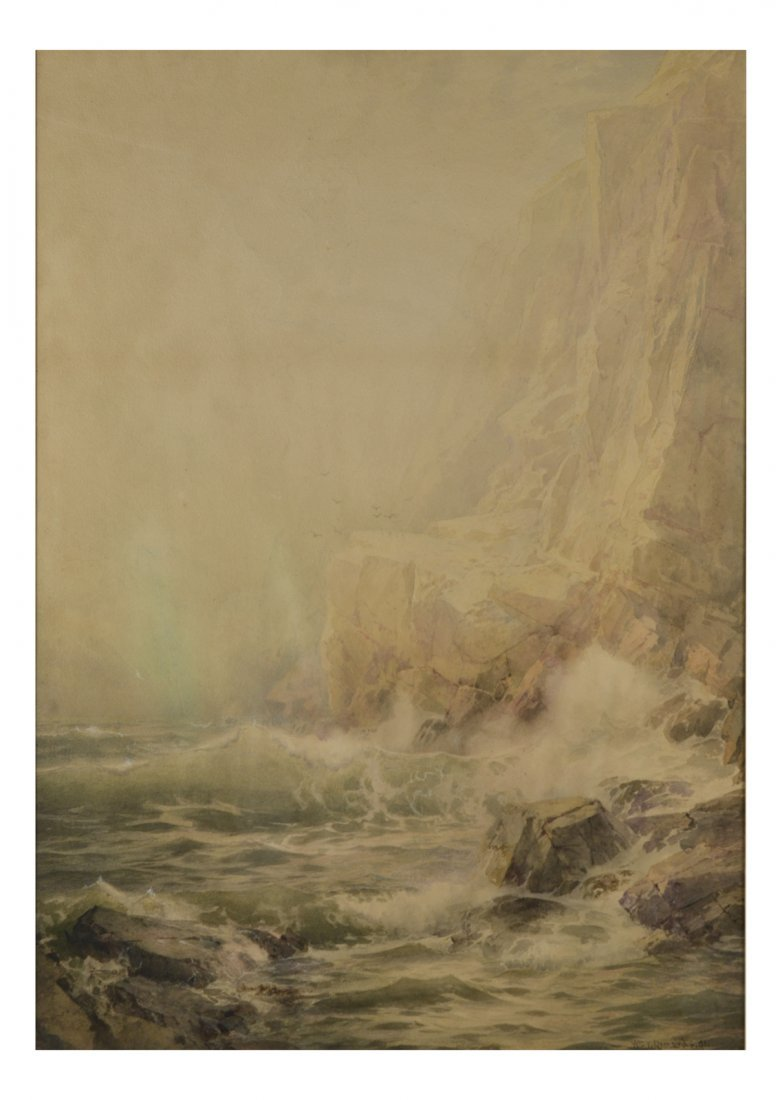 "William Trost Richards, ""Rocky Coast"""