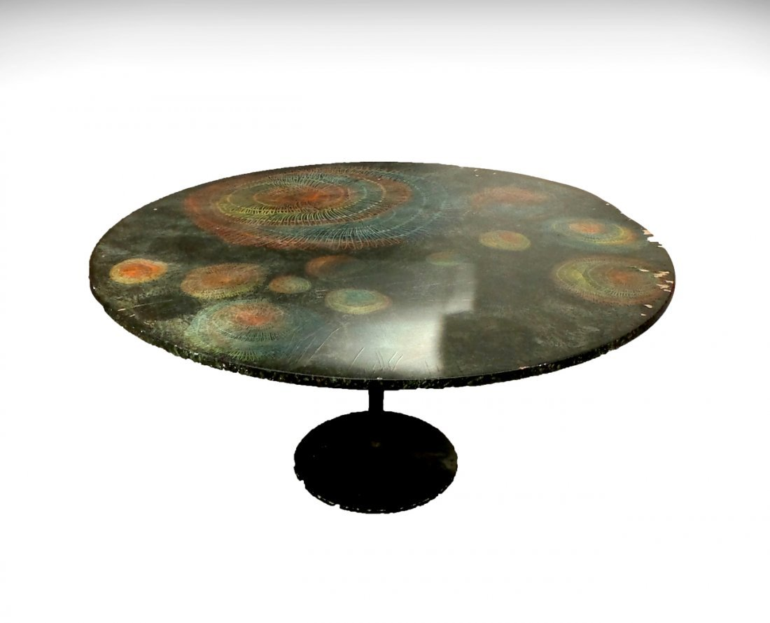 "Piero Fornasetti ""Madrepore"" Table"