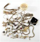 Group of Victorian GoldFilled Jewelry