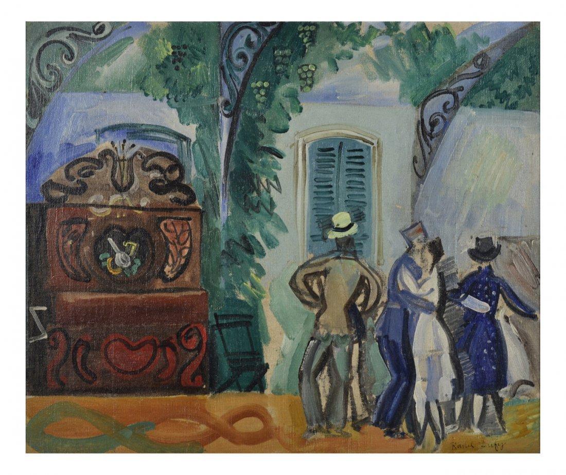 Raoul Dufy, Oil on Canvas