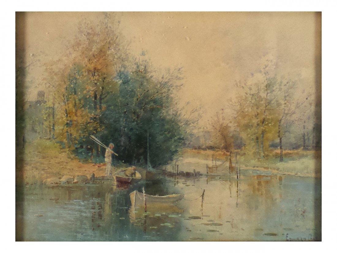 "Edward B. Gay, ""Autumnal Idyll"""