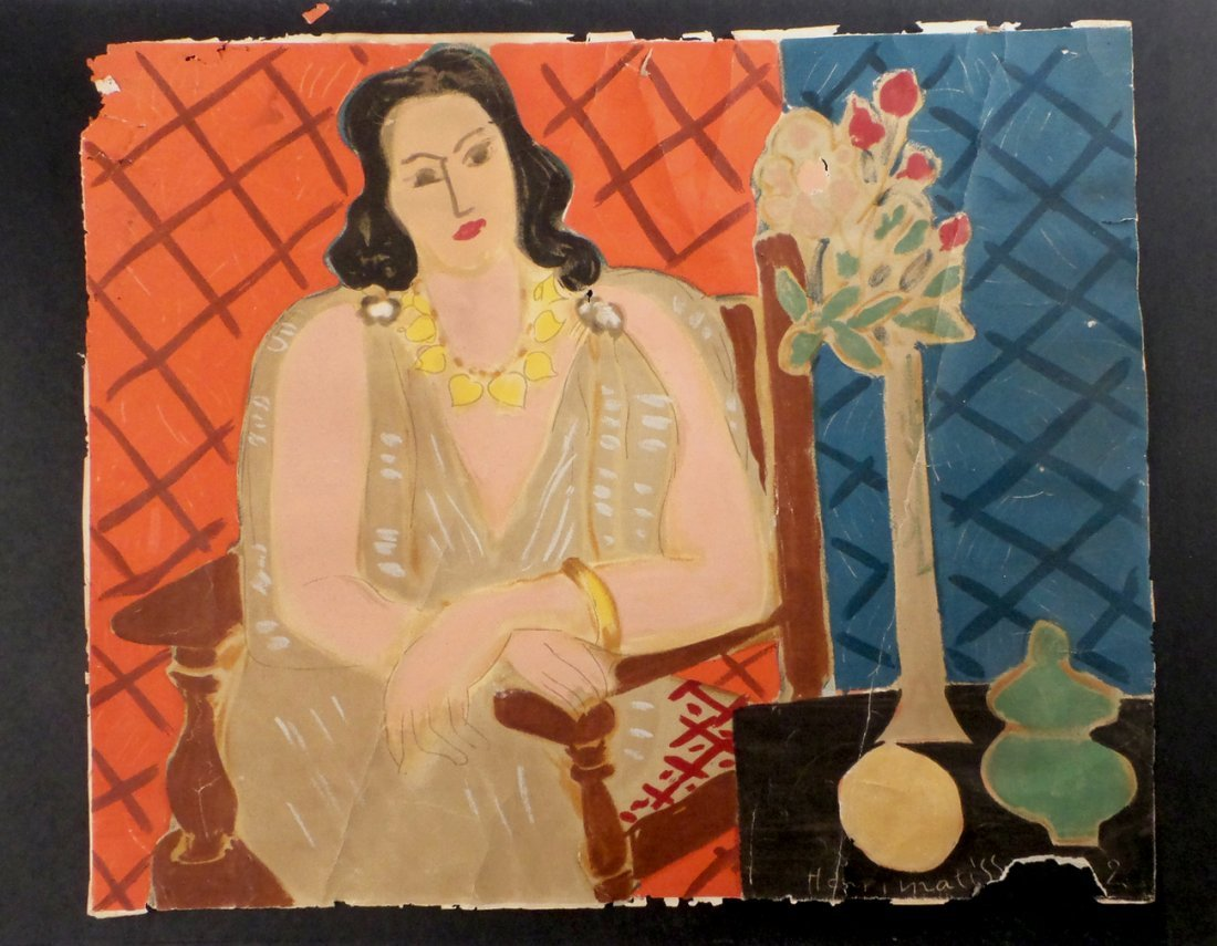 """After Henri Matisse, """"Seated Woman"""""""