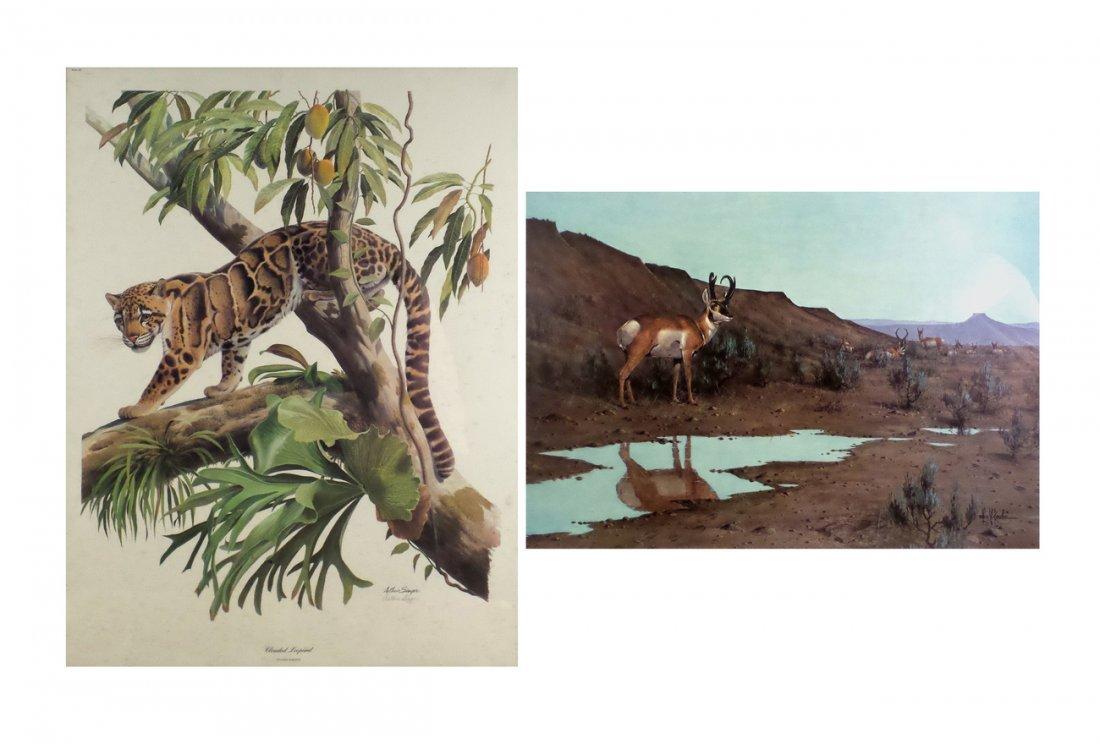 Two Prints: Singer and Kouba