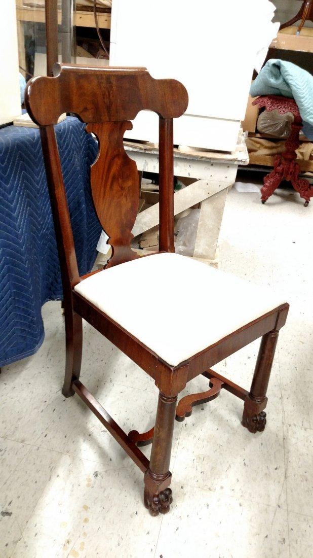 Set of 6  American Mahogany Chairs