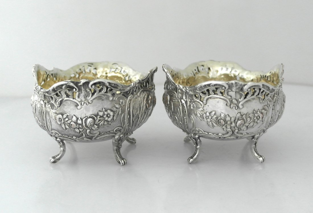Two silver-plated bowls