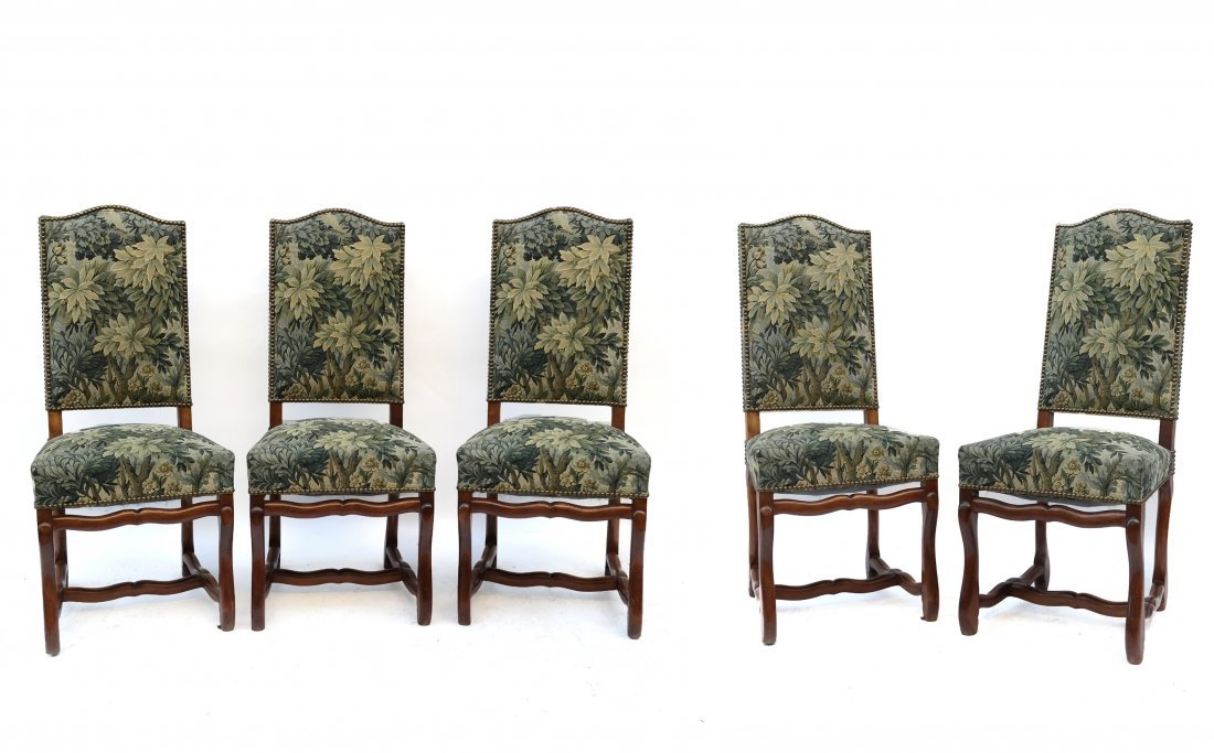 Five French-Style Side Chairs