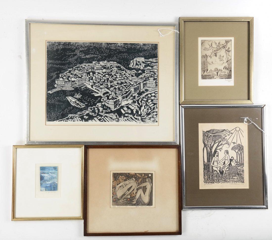 Five Works of Art