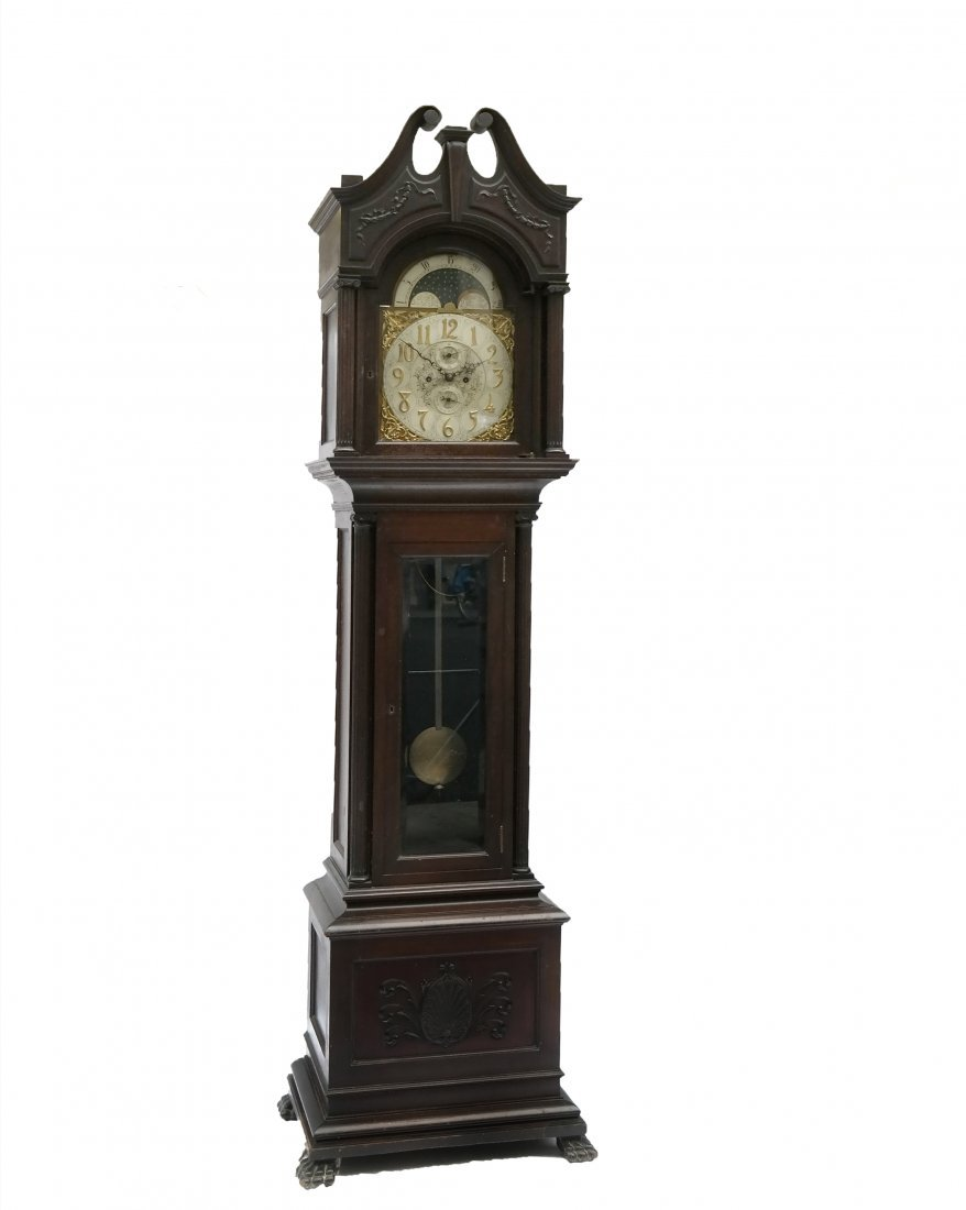 Frank Herschede Co. Tall Case Clock