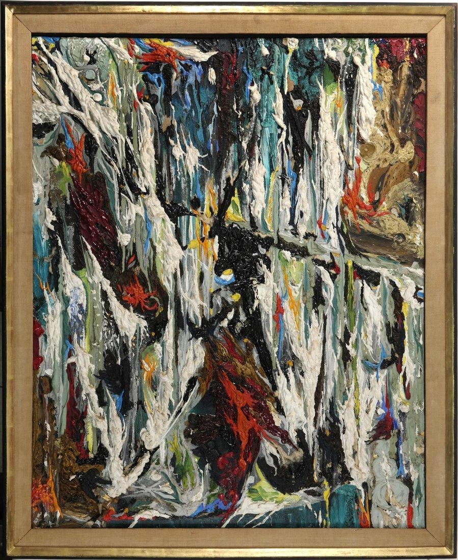 Alfonso Ossorio, Oil on Masonite - 3