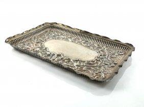 Colen Cheshire Sterling Dresser Tray