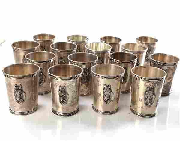 16 Newport Sterling Equestrian Cups