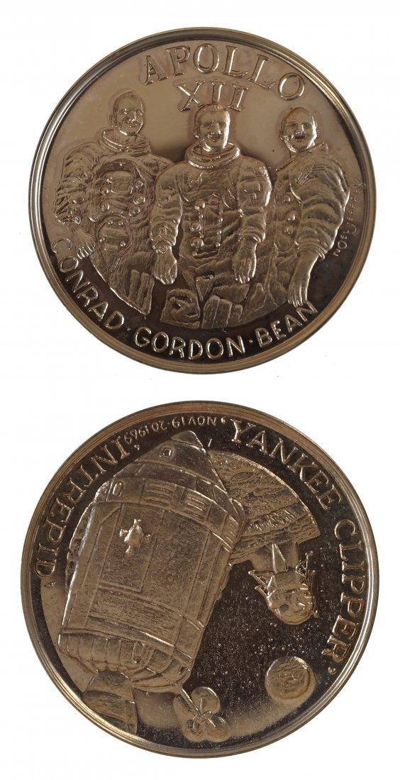 United States 1969 Apollo XII Gold Medal
