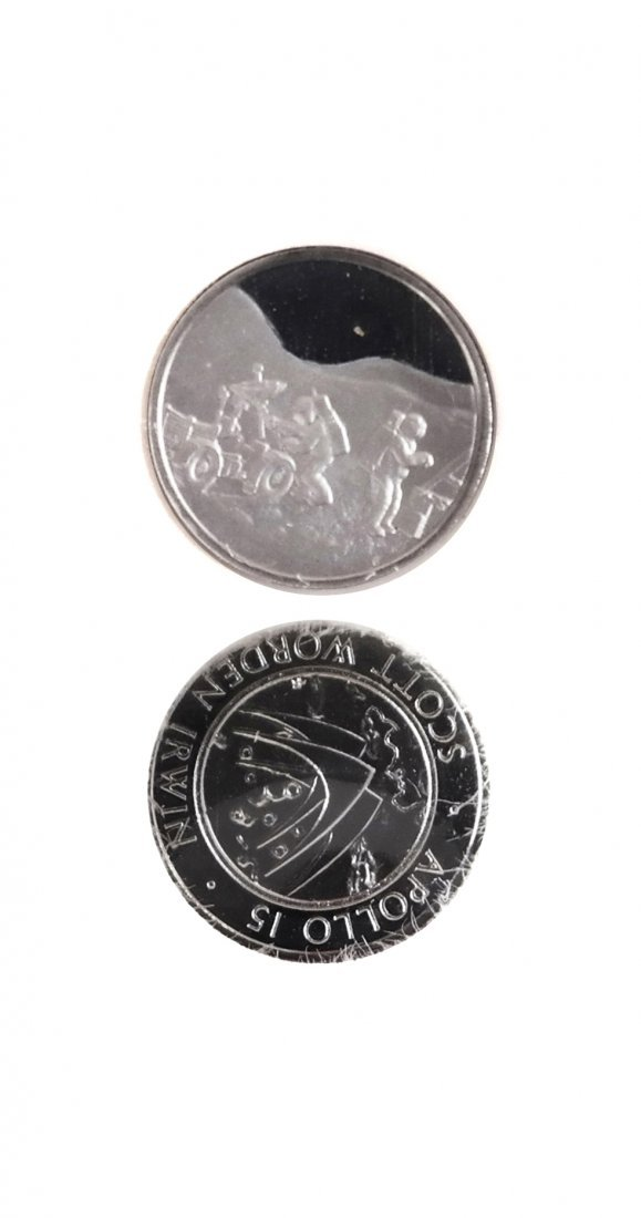 U.S. 1971 Apollo XV Platinum Medal