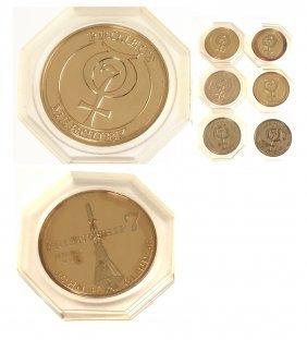 6 U.S. C.1965-1966 Project Gemini Medals