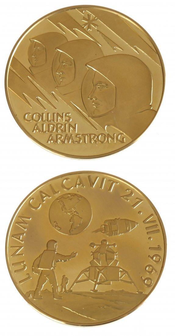 Aureus Magnus 1969 Apollo XI Gold Medal