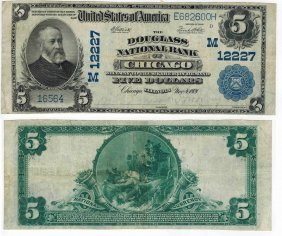 U.s. 1902 $5 National Bank Note