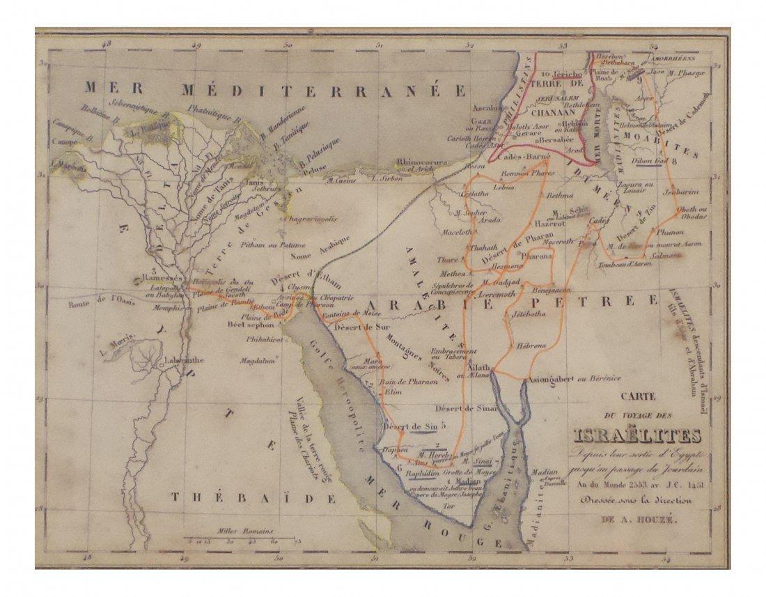 A. Houze, Antique Map