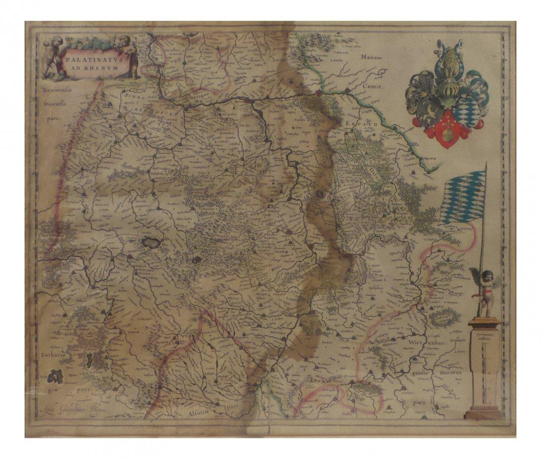 "Willem Blaeu - ""Palatinus ad Rhenum"""