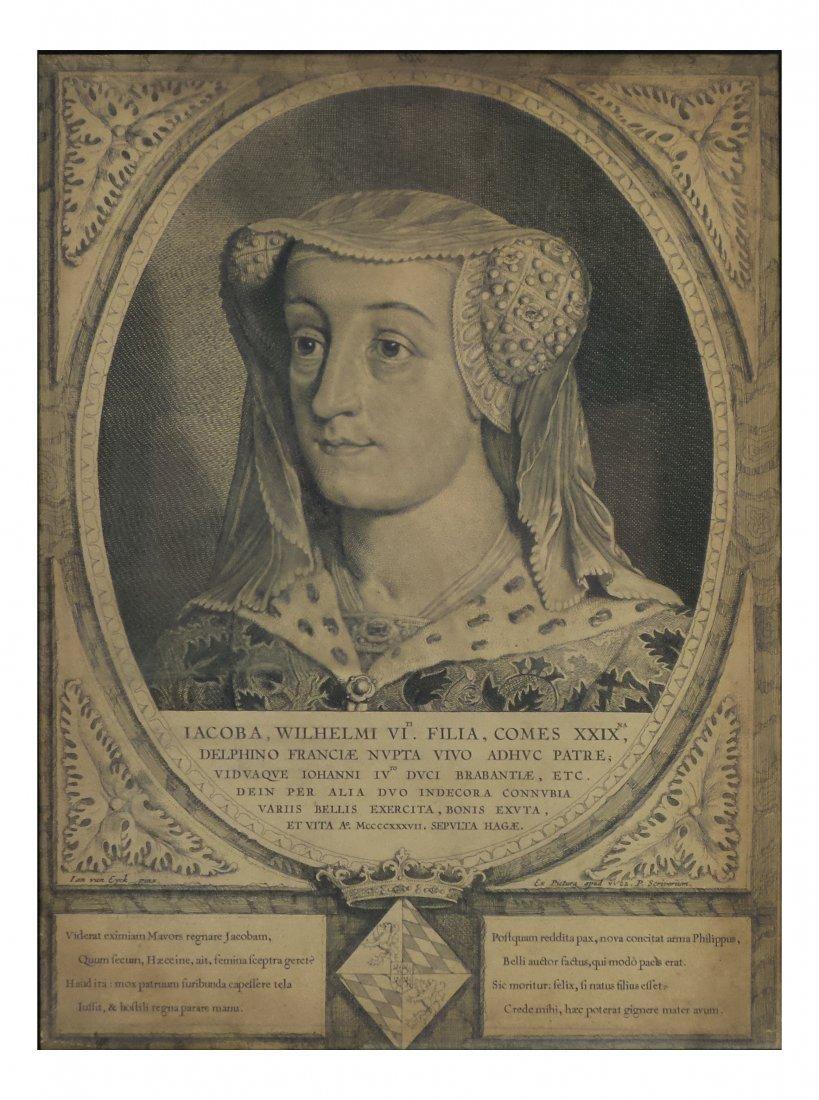 After van Eyck, Antique Engraving