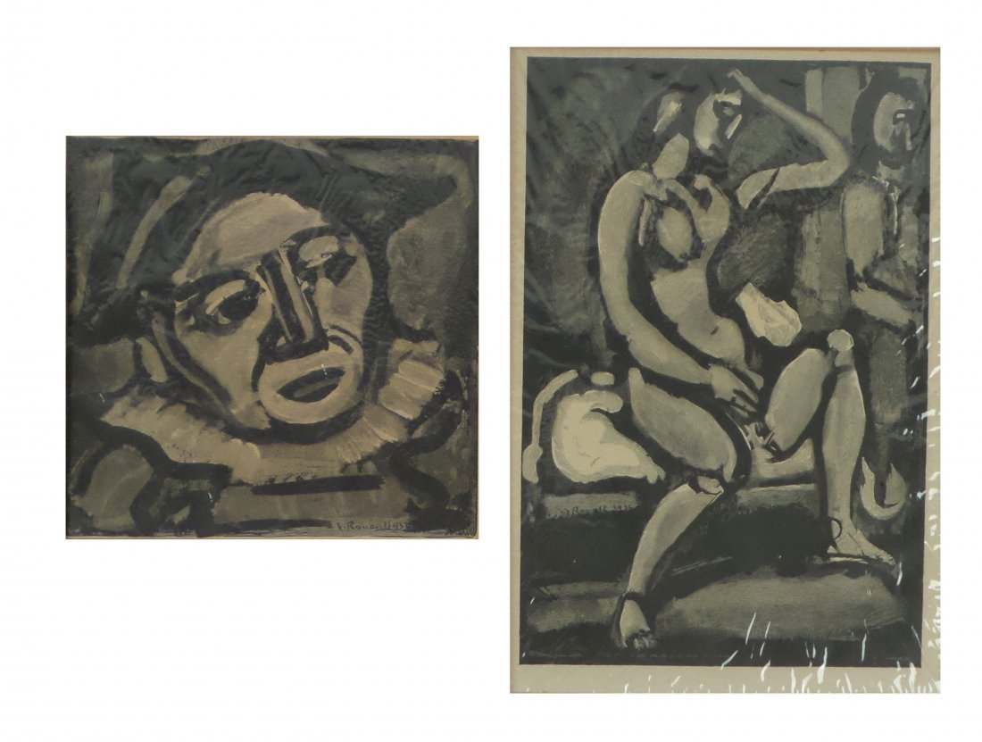 Georges Rouault, Two Engravings