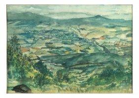Lee, Watercolor - Shenandoah Valley
